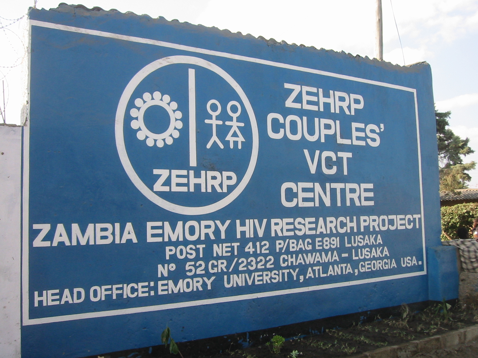 Photo of the Chawama ZEHRP CVCT Center